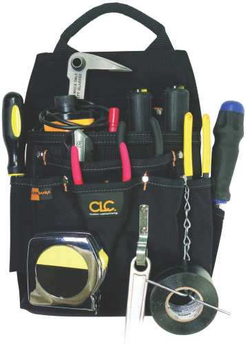 CLC� 12 POCKET BALLISTIC PROFESSIONAL ELECTRICIAN TOOL POUCH