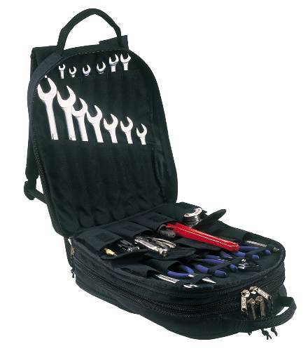 CLC� HEAVY-DUTY 75-POCKET TOOL BACKPACK