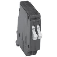 Cutler Hammer CHT2020CS Miniature Standard Twin Type CHT Circuit Breaker, 120 VAC, 20 A, 1 P