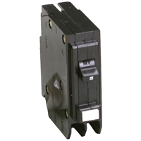 Cutler-Hammer GFTCB115 Ground Fault Type GFTCB Circuit Breaker, 120/240 VAC, 15 A, 1 P, 10 kAIC