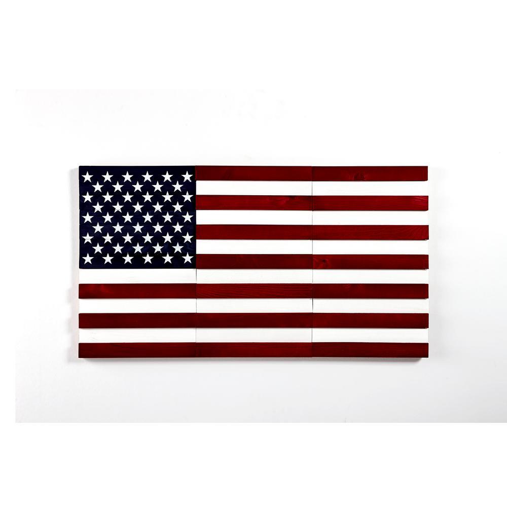 ART WALL AMERICAN FLAG 8.3SQFT