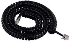 GCHA444012-FBK / 12' BLACK Handset Cord