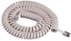 GCHA444012-FIV / 12' IVORY Handset Cord