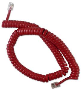 GCHA444012-FCR / 12' RED Handset Cord