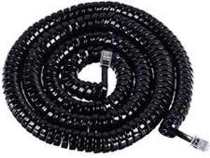 GCHA444025-FBK / 25' BLACK Handset Cord