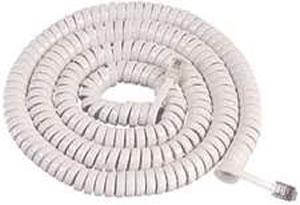GCHA444025-FWH  25' WHITE Handset Cord