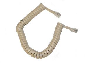 GCHA444006-FIV / 6' IVORY Handset Cord