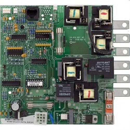 Circuit Board, Cal Spa (Balboa), C2000R1E-F, Super Duplex, 8 Pin Phone Cable