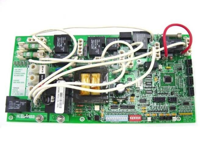 Circuit Board, Cal Spa (Balboa), CS6300DVR1, VS513Z, 8 Pin Phone Cable