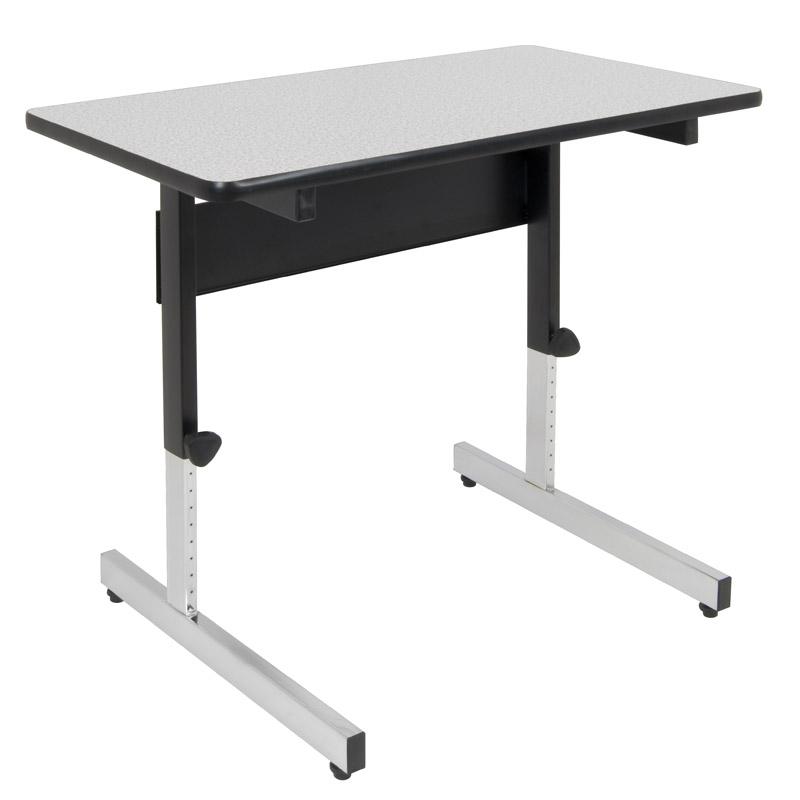 Adapta Table - Black / Spatter Gray