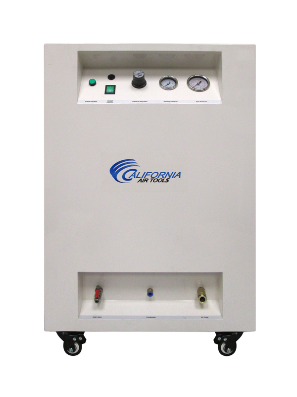 California Air Tools 10020SPC Ultra Quiet & Oil-Free 2.0 Hp 10.0 Gal. Steel Tank Air Compressor in Sound Proof Cabinet