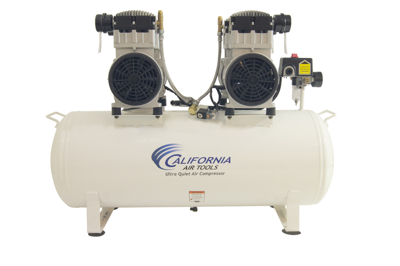 California Air Tools 20040C Ultra Quiet & Oil-Free 4.0 Hp, 20.0 Gal. Steel Tank Air Compressor with Auto Drain Valve