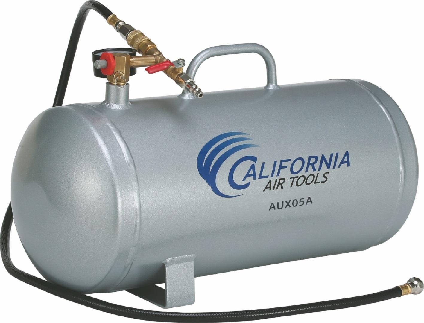 California Air Tools AUX05A - 5 Gallon Lightweight (Rust Free) Portable Aluminum Air Tank