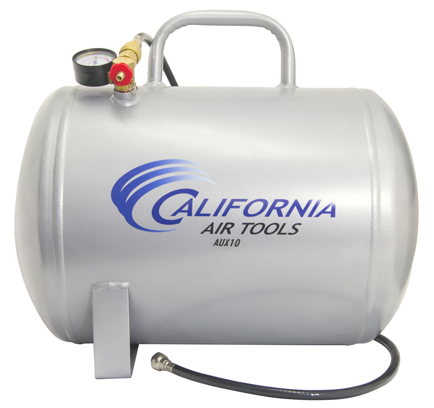 California Air Tools AUX10 - 10 Gallon Portable Steel Air Tank