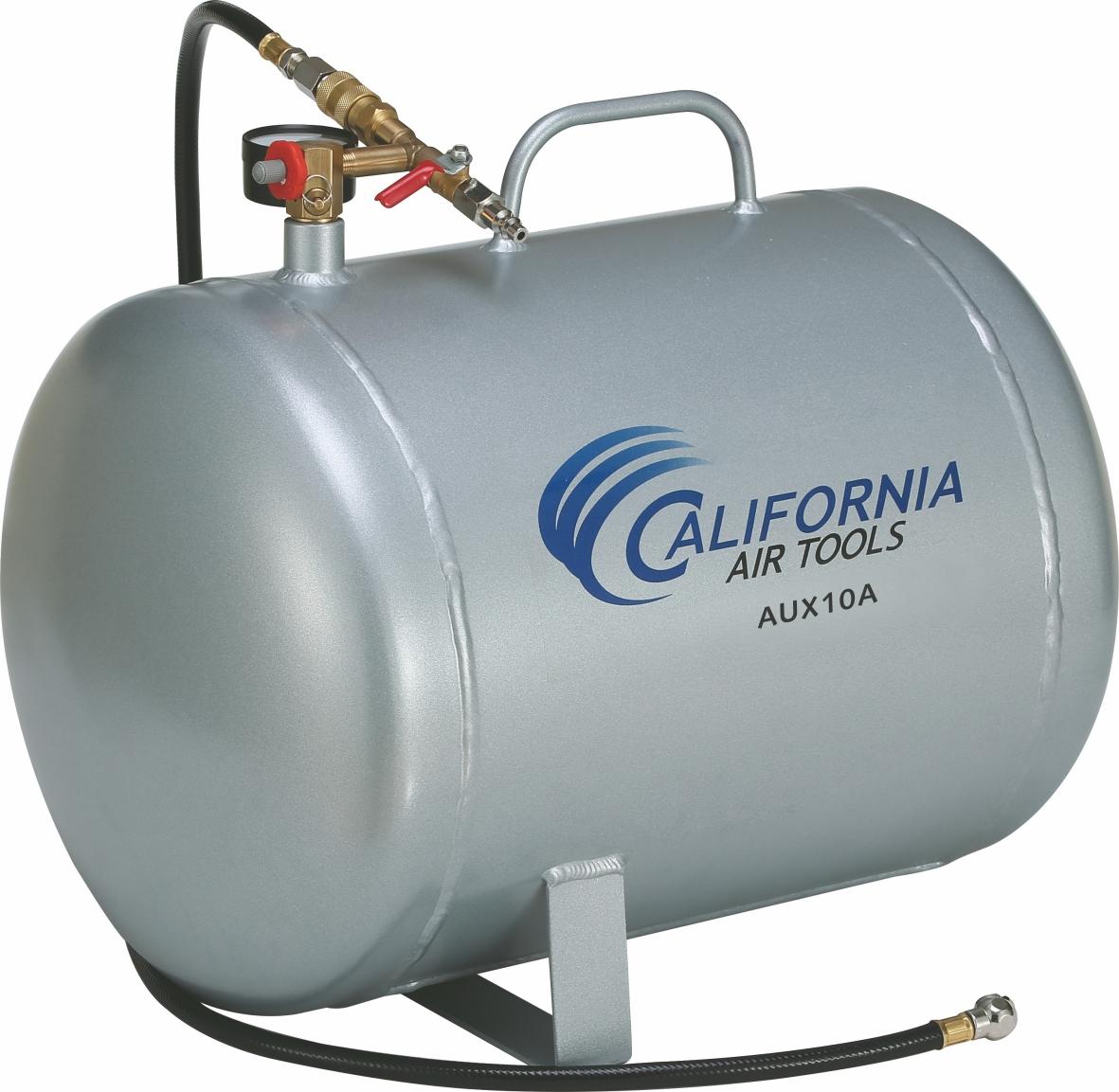 California Air Tools AUX10A - 10 Gallon Lightweight (Rust Free) Portable Aluminum Air Tank