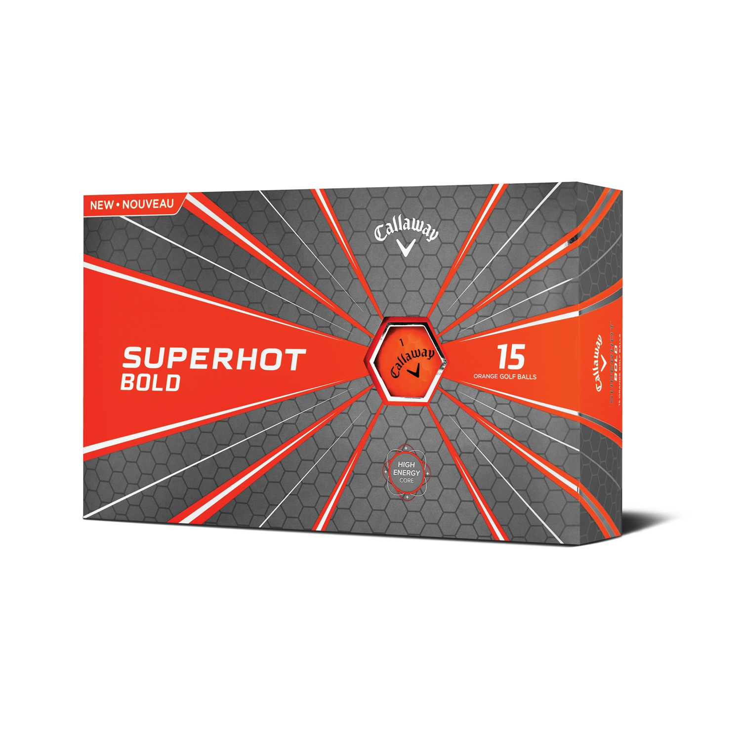 Callaway Superhot 18 Golf Balls - 15 Pack Bold Orange