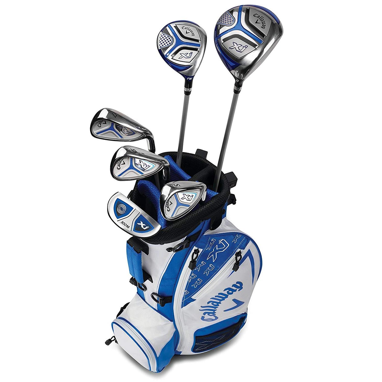 Callaway XJ Junior Golf Set Level 2 RH White