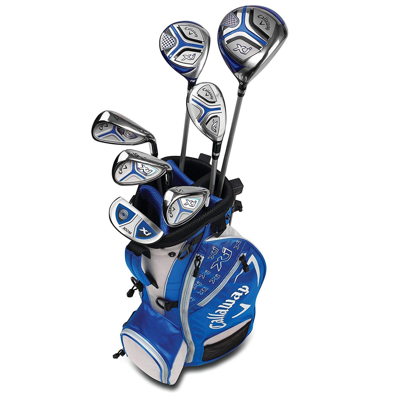 Callaway XJ Junior Golf Set Level 3 LH Blue
