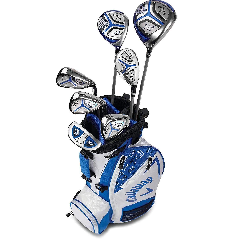 Callaway XJ Junior Golf Set Level 3 LH White