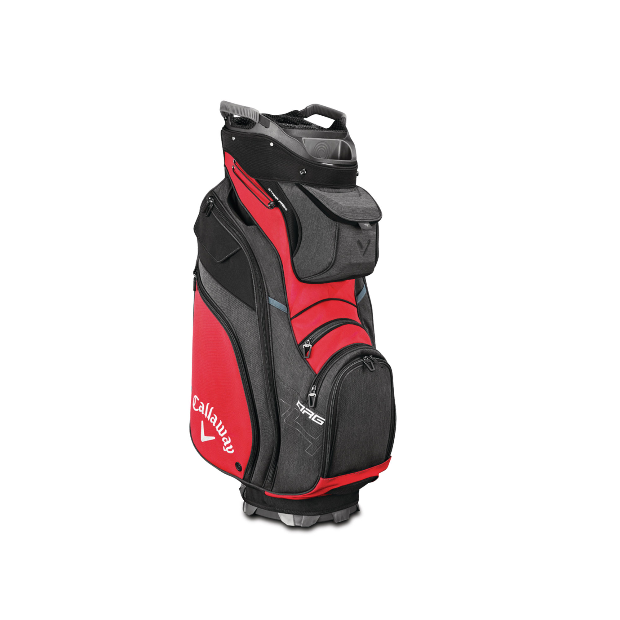 Callaway ORG 14 Cart Golf Bag Red/Black/Titanium