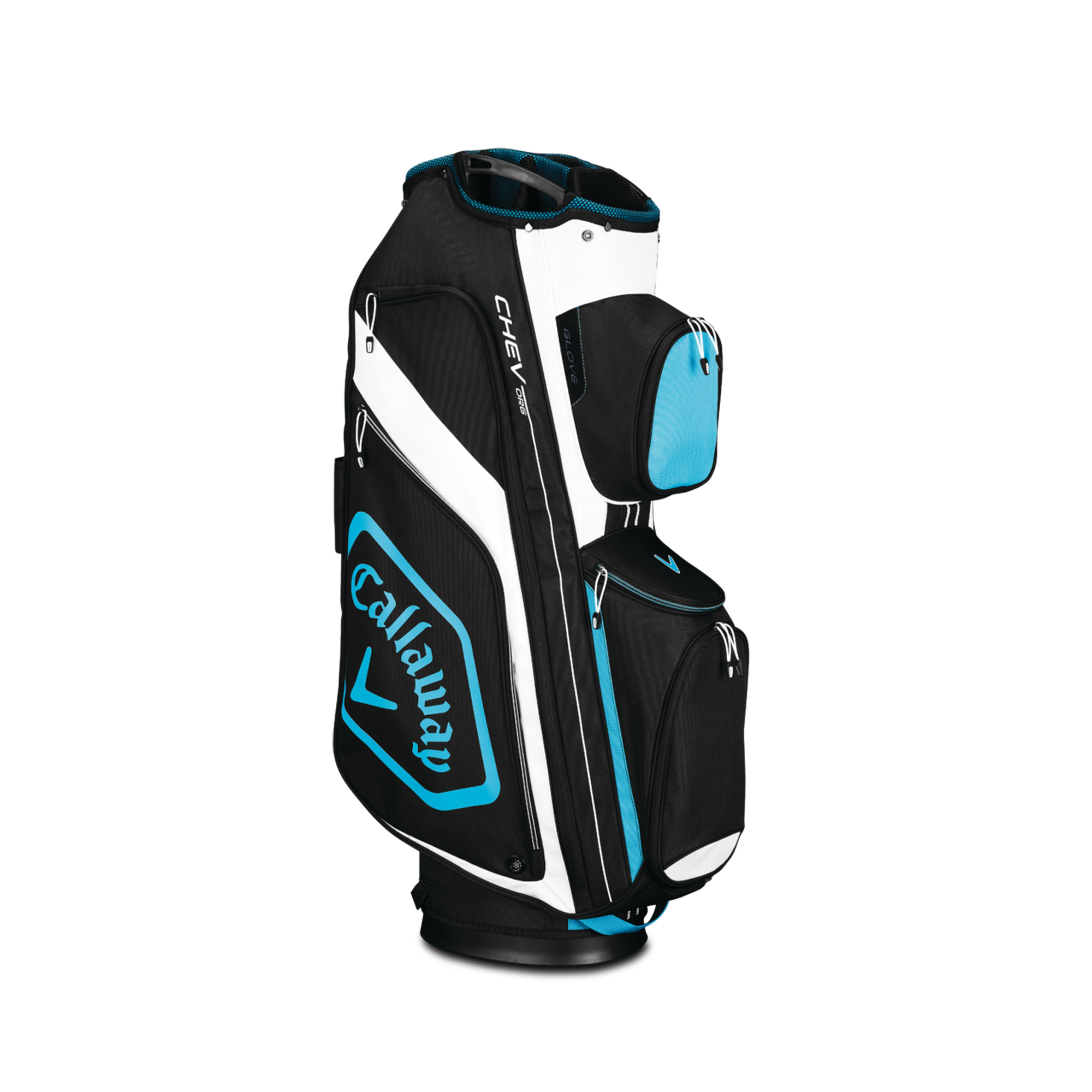 Callaway CHEV ORG Cart Golf Bag Black/Blue/White