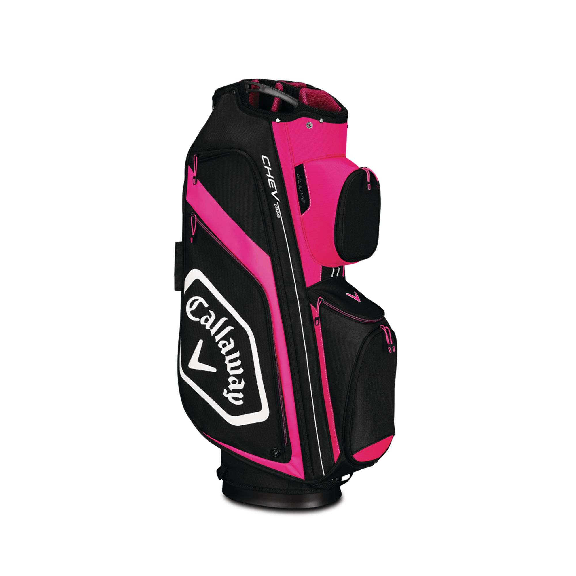 Callaway CHEV ORG Cart Golf Bag Pink/White/Black