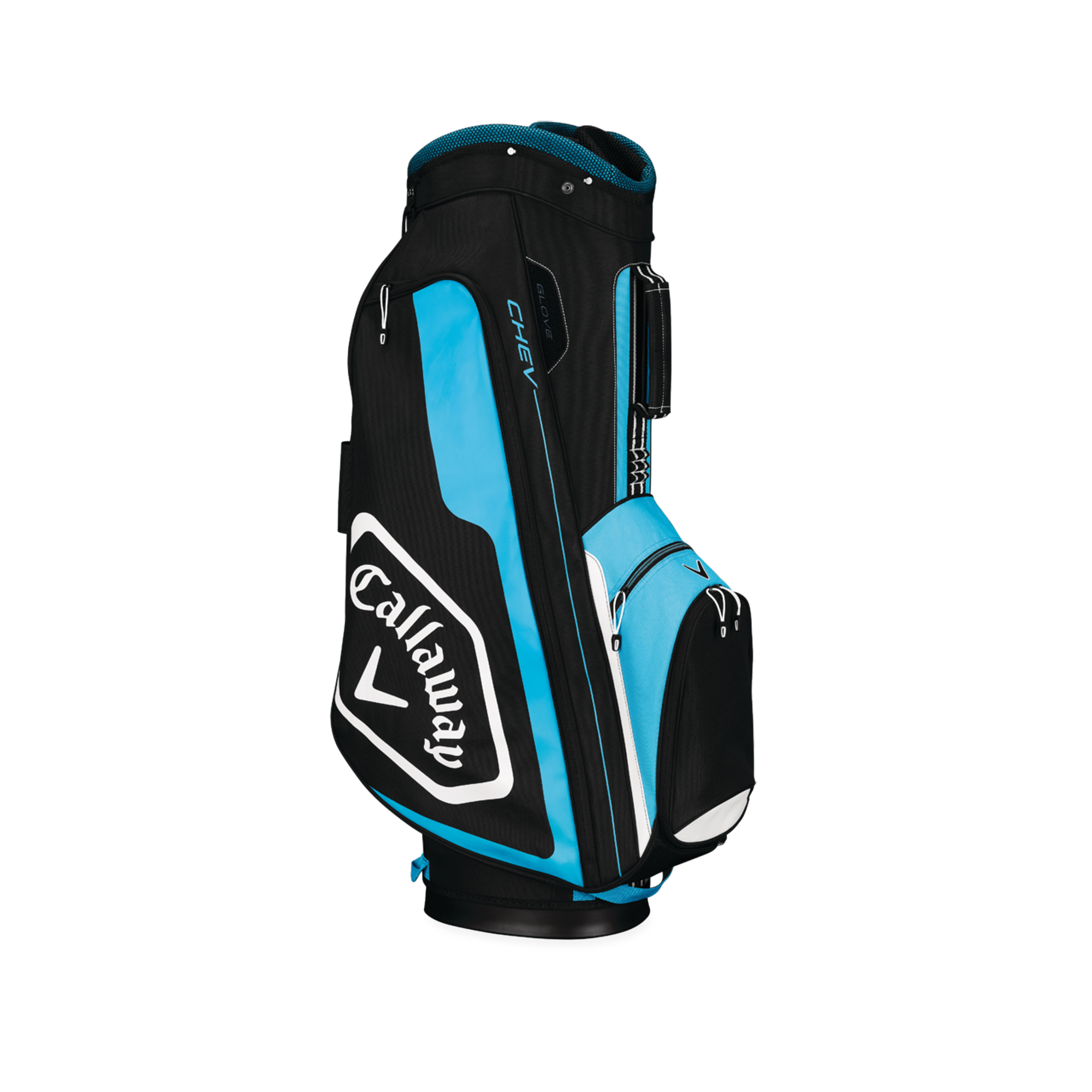 Callaway CHEV Cart Golf Bag Black/Blue/White