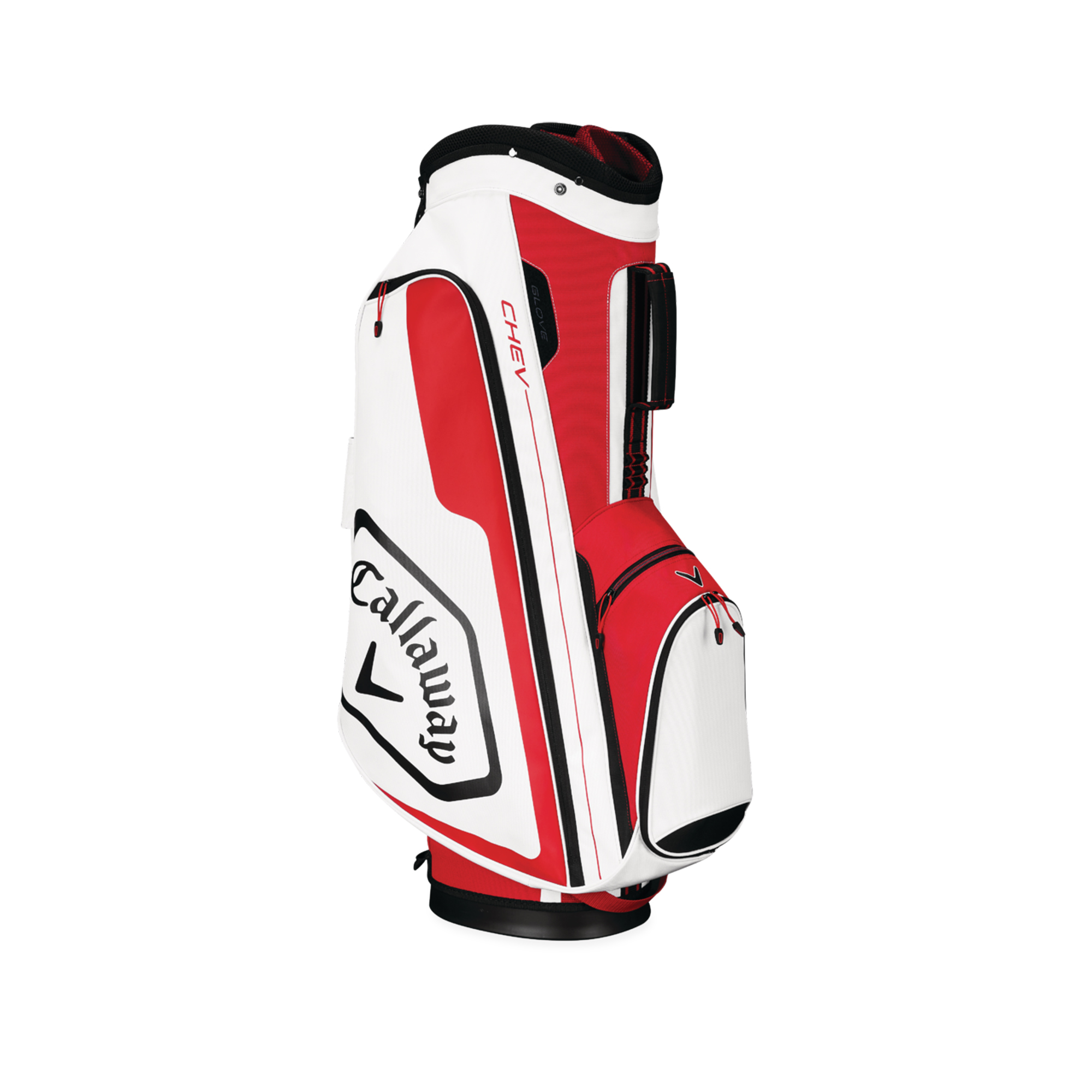Callaway CHEV Cart Golf Bag Red/White/Black