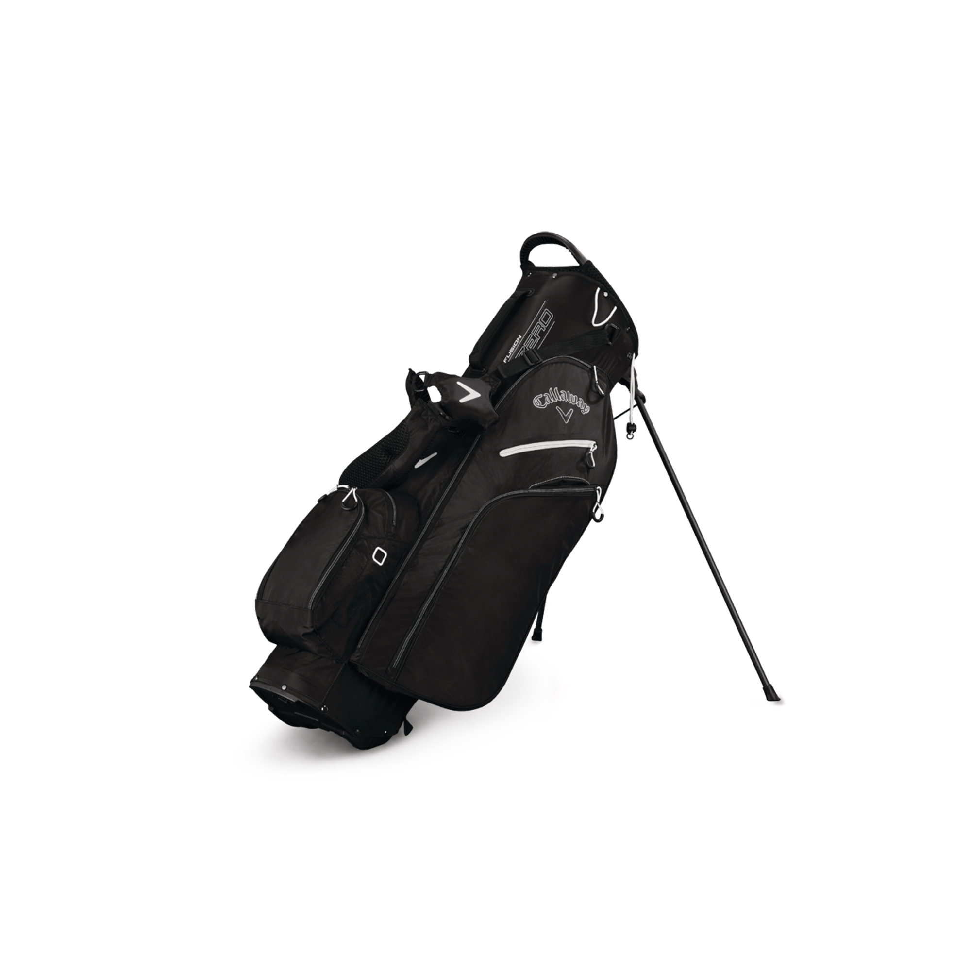 Callaway Fusion Zero Golf Stand Bag Black/Titanium/Wht