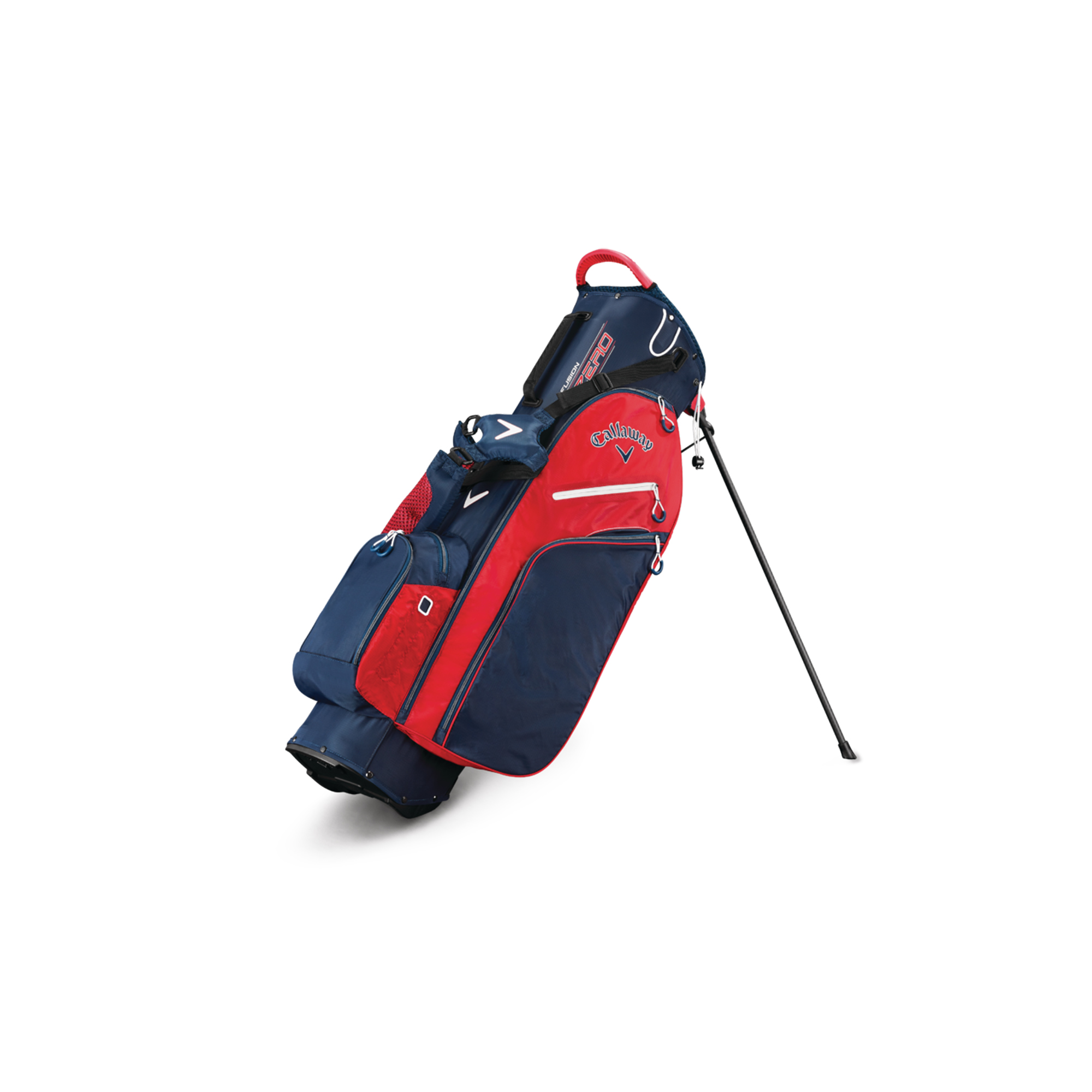 Callaway Fusion Zero Golf Stand Bag Navy/White/Red