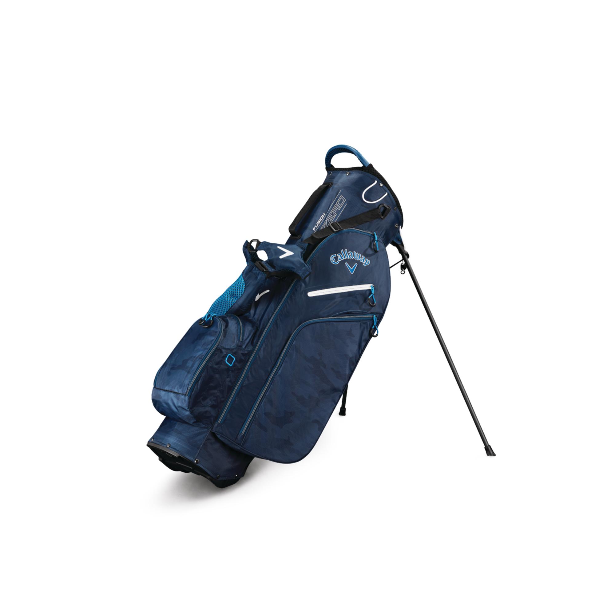 Callaway Fusion Zero Golf Stand Bag Navy Camo