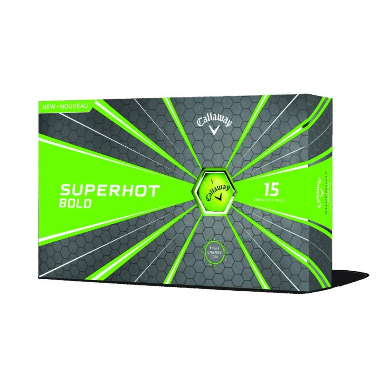 Callaway Superhot 18 Golf Balls - 15 Pack Bold Green