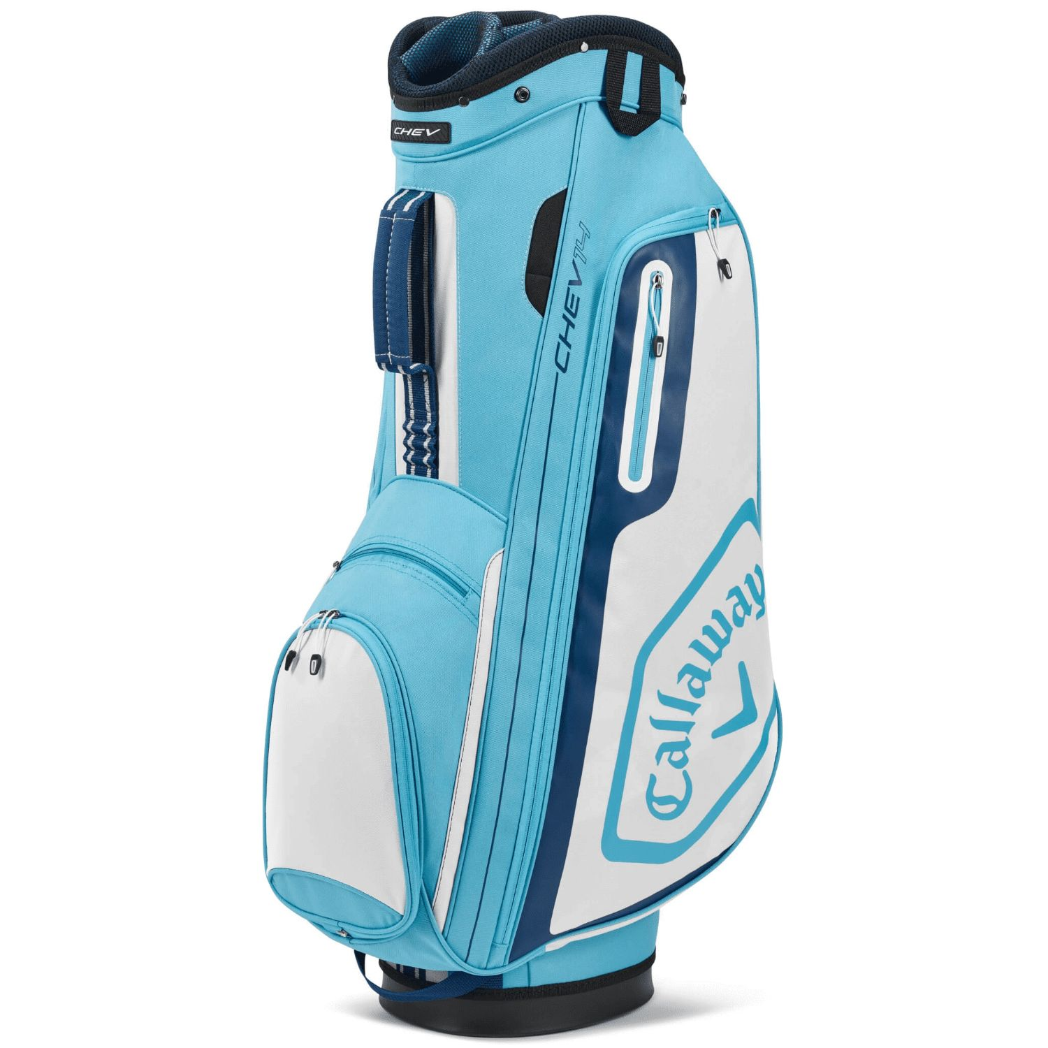 Callaway Golf 2020 Chev 14 Cart Bag-Light Blue-White-Navy