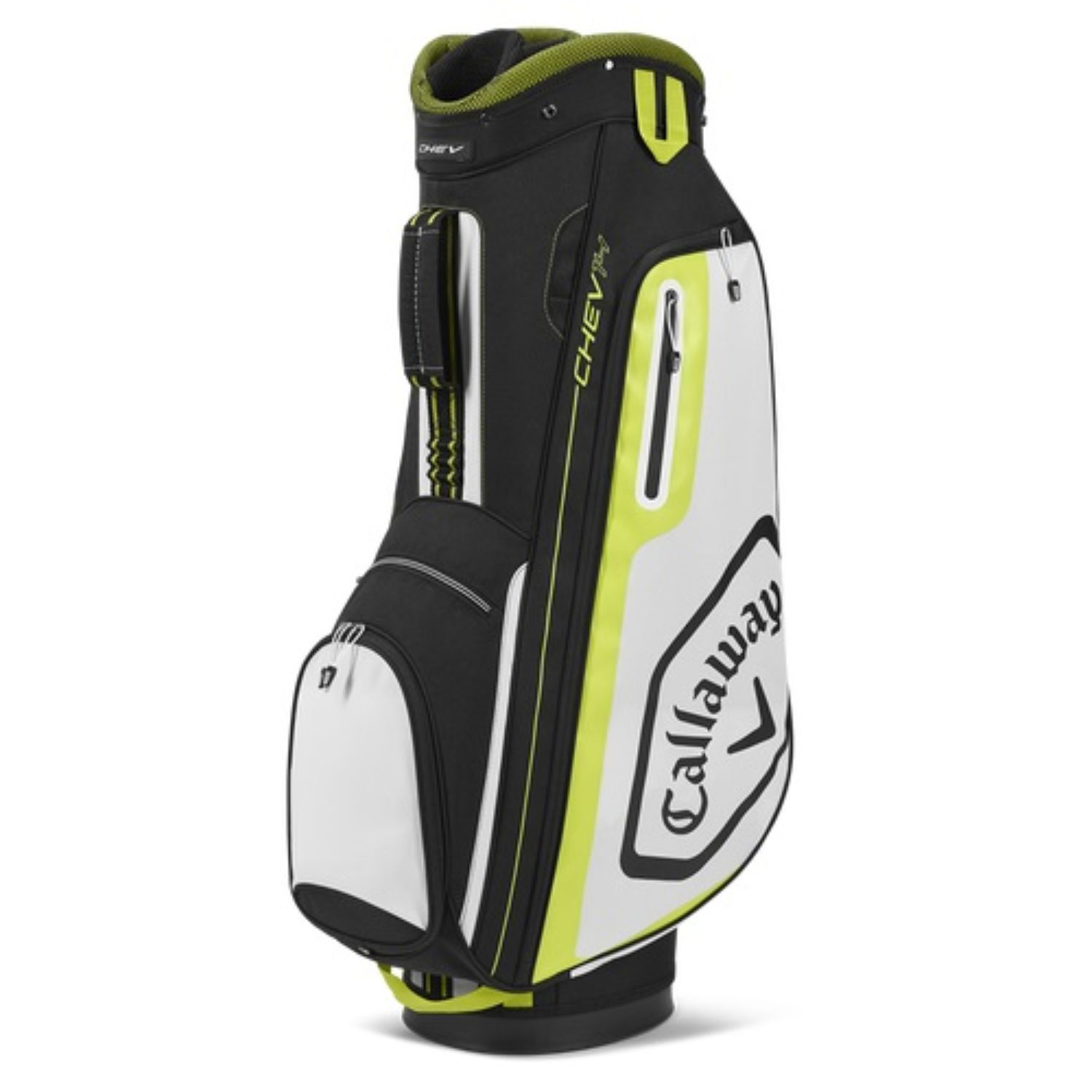 Callaway Golf 2020 Chev 14 Cart Bag-Black-White-Yellow