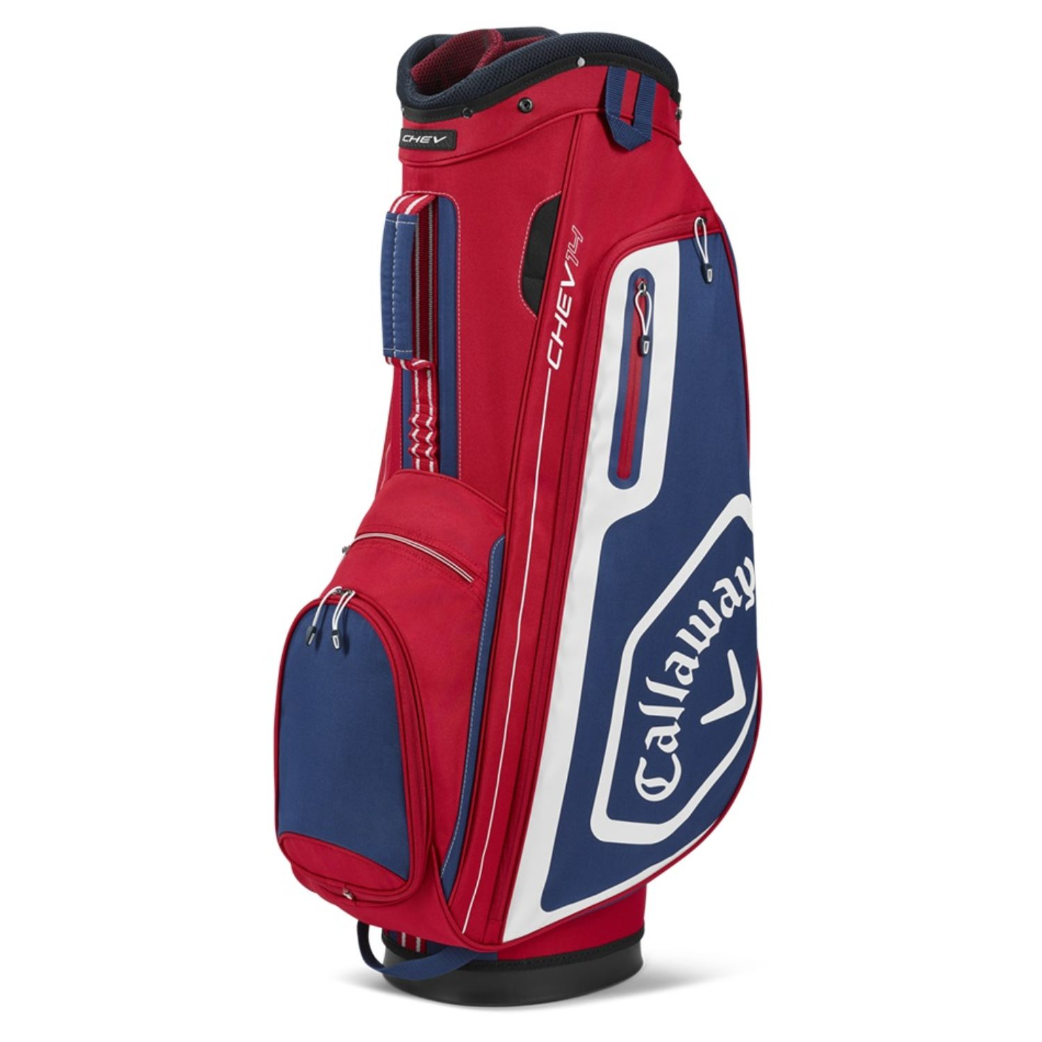 Callaway Golf 2020 Chev 14 Cart Bag-Red-Navy-White