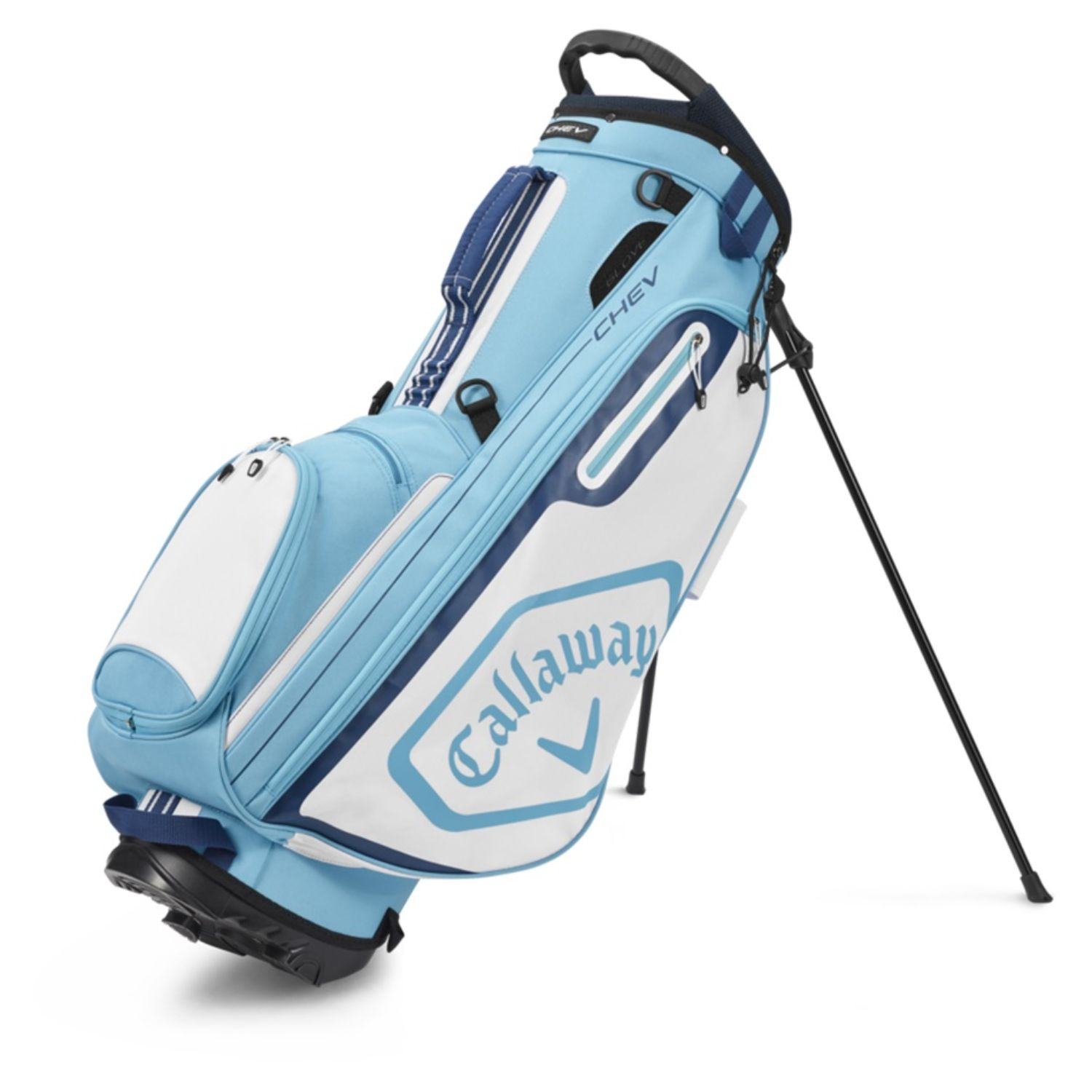 Callaway Golf 2020 Chev Stand Bag-Light Blue-White-Navy