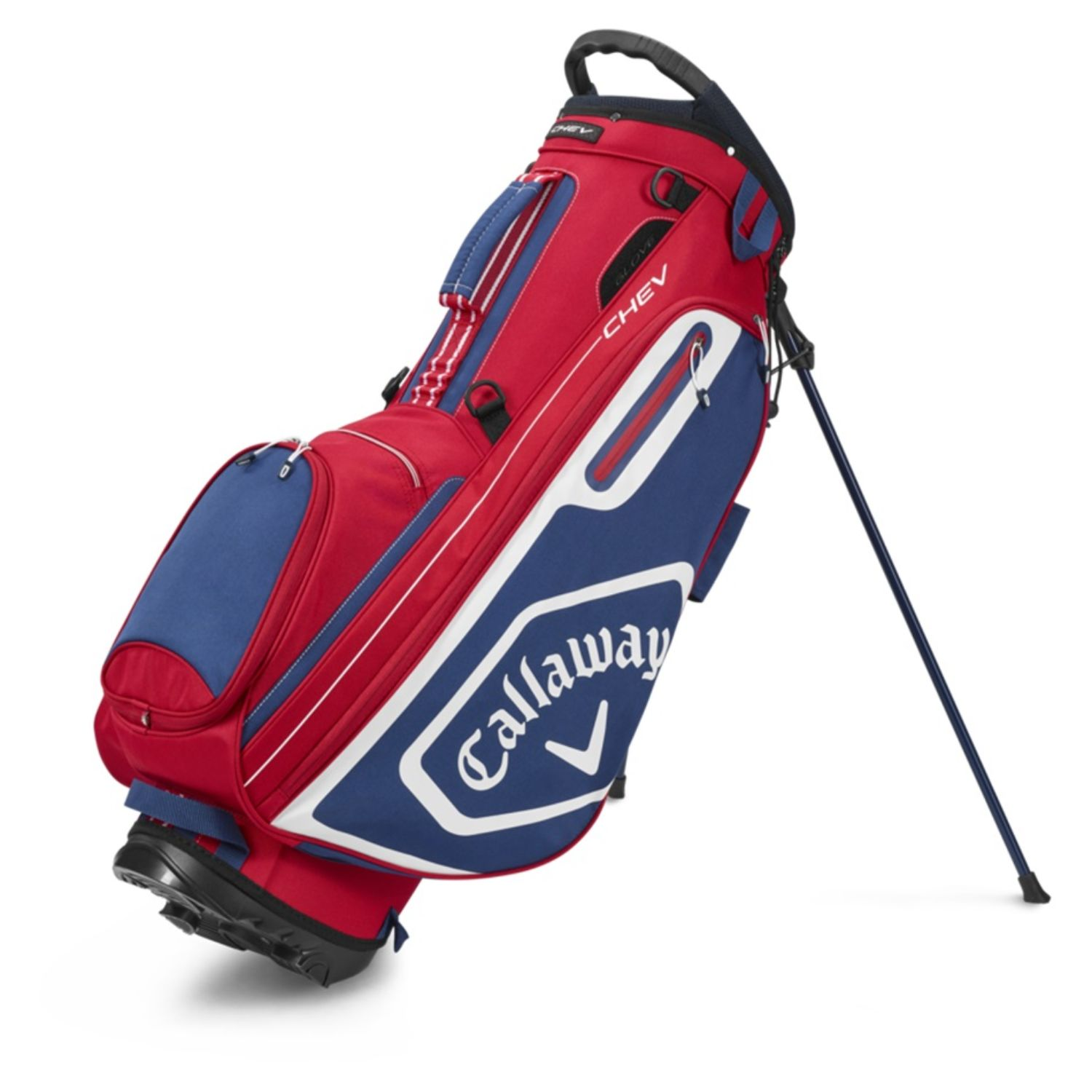 Callaway Golf 2020 Chev Stand Bag-Red-White-Navy