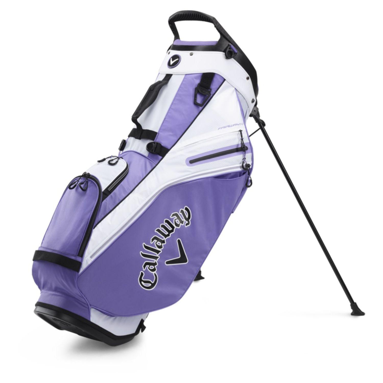 Callaway Golf 2020 Fairway 14 Stand Bag-Lilac-White