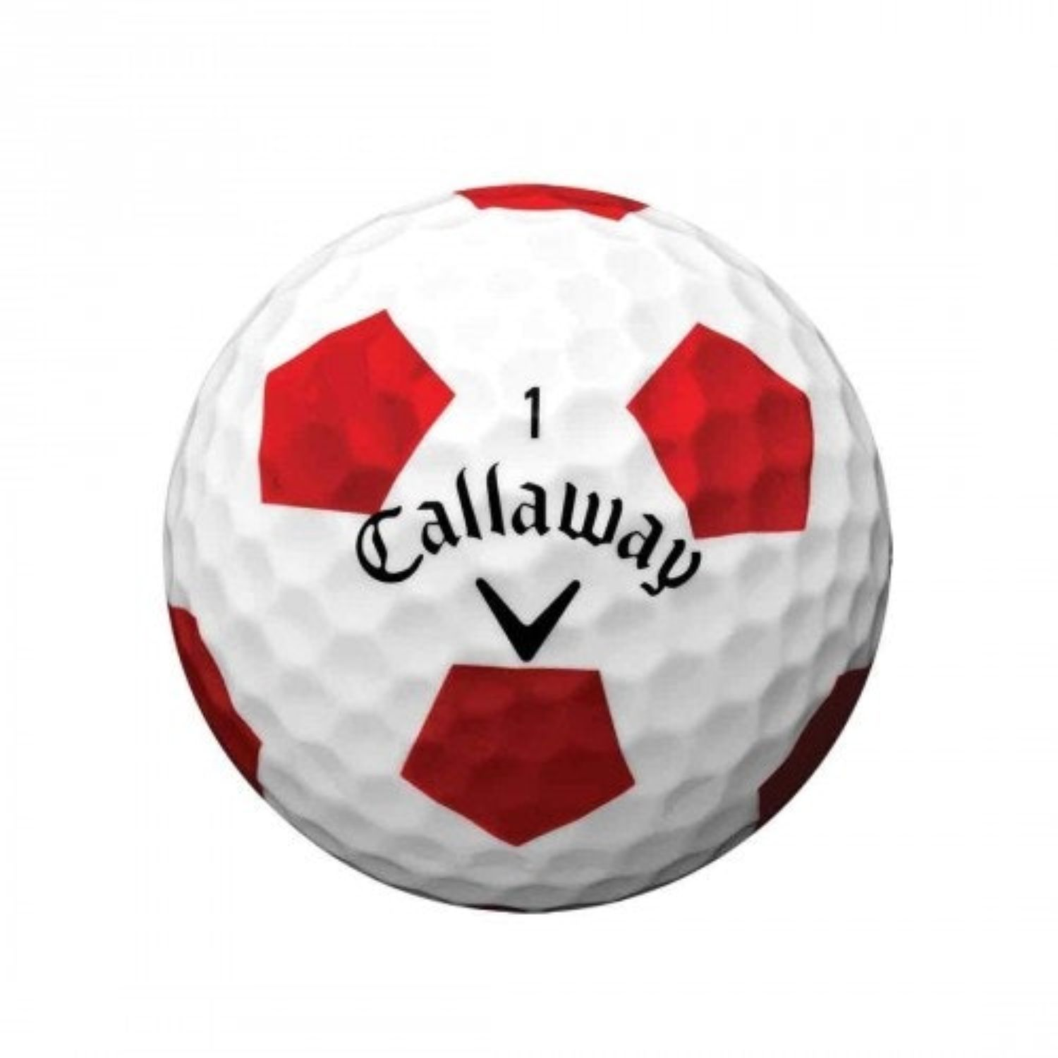 Callaway Chrome Soft 2020 Golf Balls Truvis White-Red