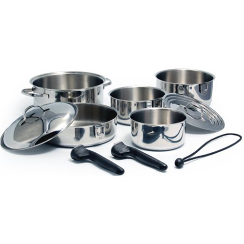 Stainless Steel 10 Piece