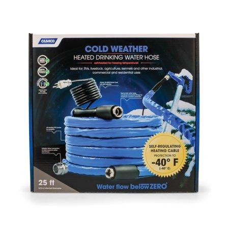 -HEATED DRINKING WATER HOSE -40,25FT 5/8IN ID(E/F) CETLUS,LLC