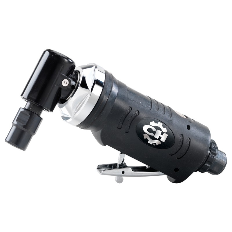 18,000 Air Angle Die Grinder with Adjustable Exhaust Deflector