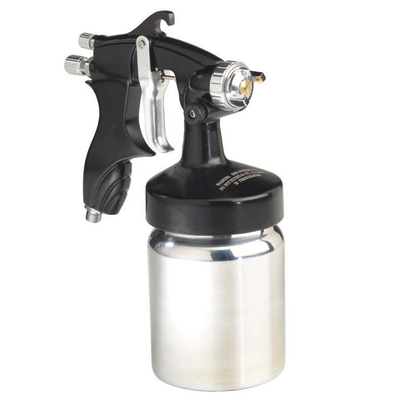 Spray Gun, Heavy Duty with 1-Quart Canister