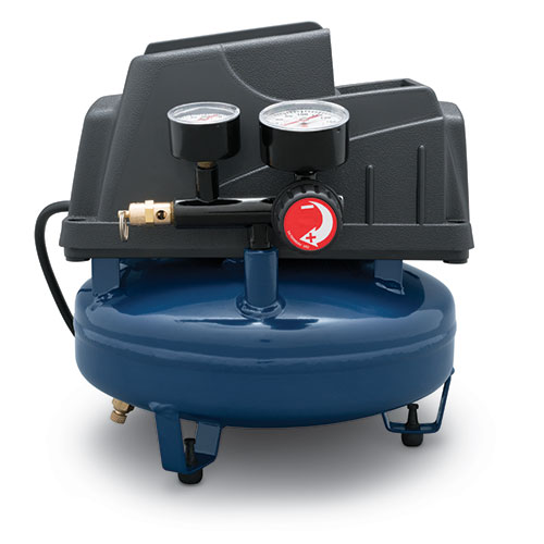 Air Compressor, 1-Gallon Pancake Oilless .36 CFM .33HP 120V 3A