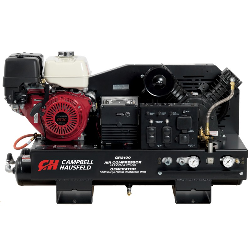 2-in-1 10 Gallon (Air Compressor/Generator)