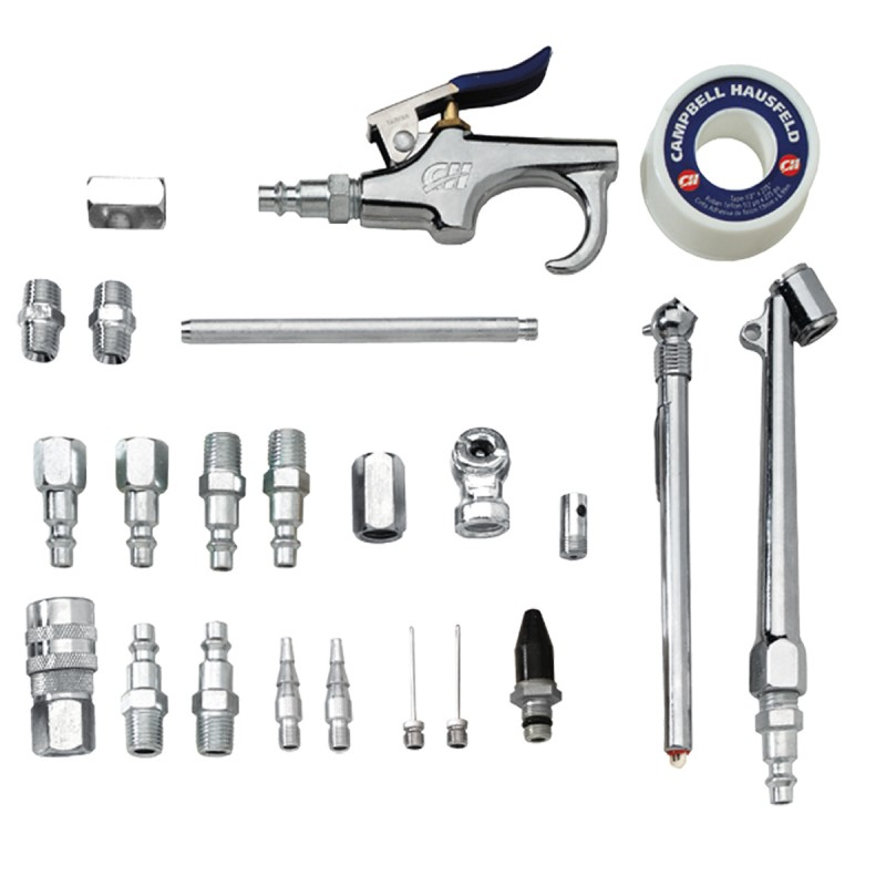 Air Compressor 25 Piece Accessory Kit with Case