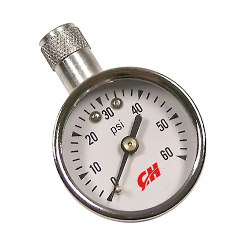 60 PSI Mini Dial Tire Gauge