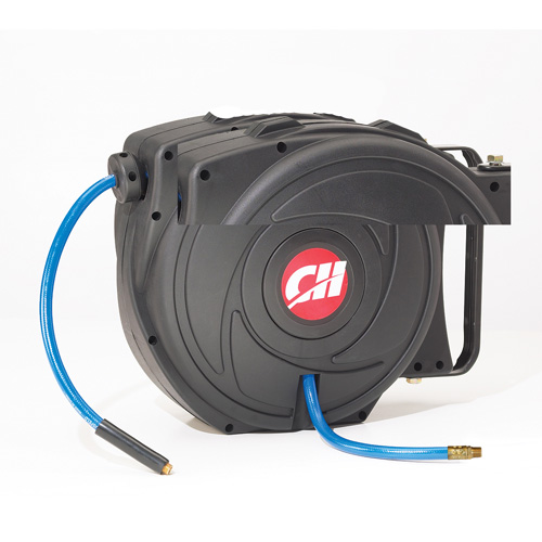 Retractable Hose Reel with 50 Foot Hose