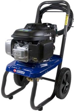 Campbell Hausfeld PW2575 2,700 psi 2.4 gpm Honda GCV160 Gas-Powered Pressure Washer with 25-Foot Hose at Sears.com
