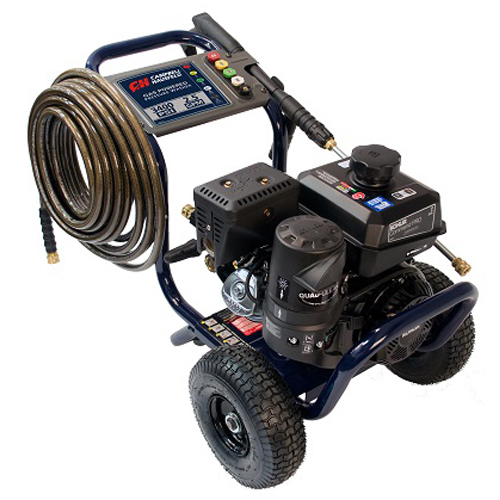 Gas Powered Pressure Washer, 3400 PSI, 2.5 GPM, Tri-Plex Pump, Kohler CH270